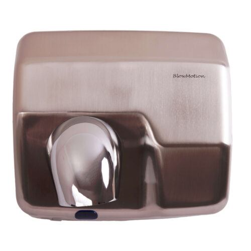 HD360B Brushed Commercial Hand Dryers Front Profile