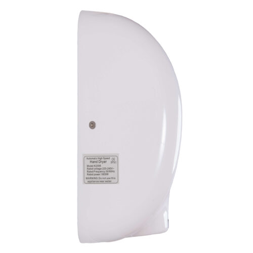 White Storm Commercial Hand Dryers Side Profile