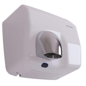 White Steel Commercial Hand Dryers