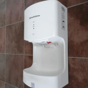 Cyclone, Jet Blade Hand Dryer with Water Collection
