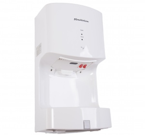 White Cyclone Blade Hand Dryers Main