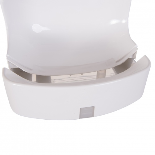 White Cyclone Blade Hand Drers Water Collection Tray