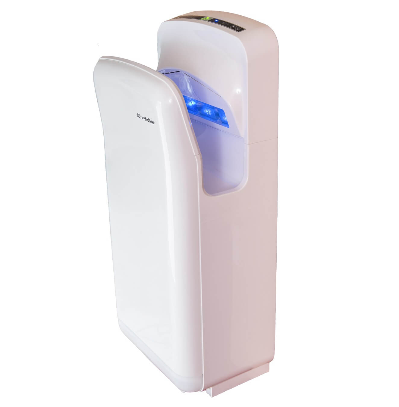 hands in jet blade hand dryer just 295 the ninja by blow motion