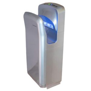 Jet Blade hand Dryer in Silver