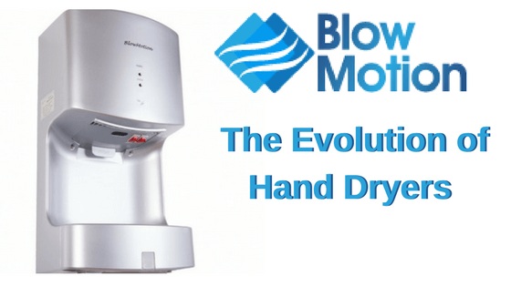 evolution of hand dryers