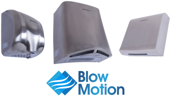 The Latest Blow Motion Commercial Hand Dryers!