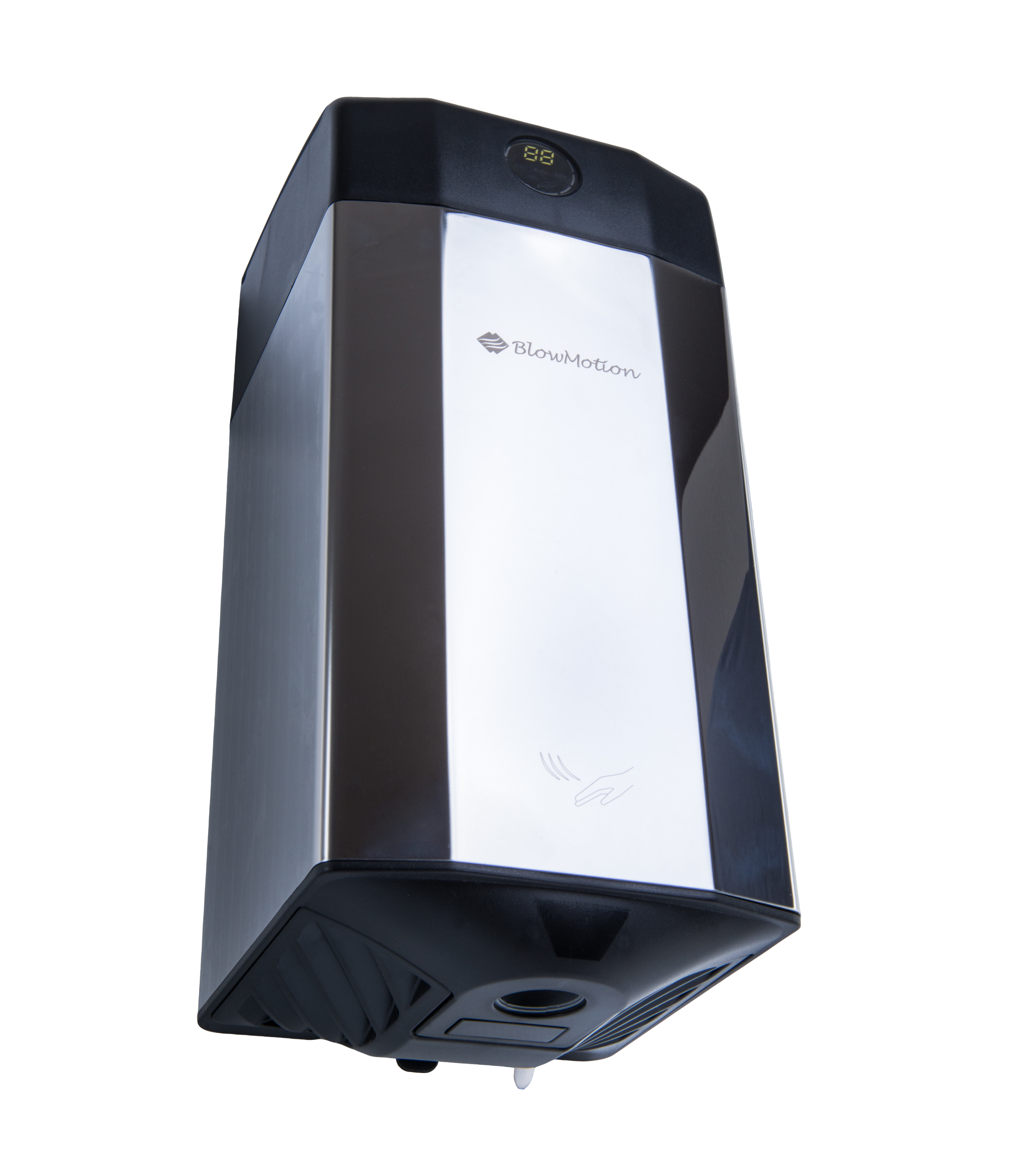 airscent polished steel hand dryer